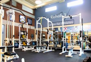 Center for Athletes interior
