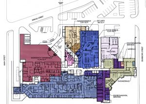 Master Plan - Hospital Ground Floor