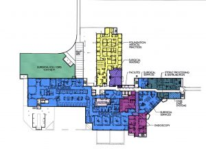 Master Plan - Hospital Second Floor