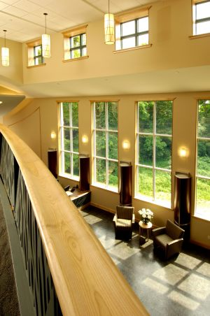 Conference Center Lobby from Mezzanine