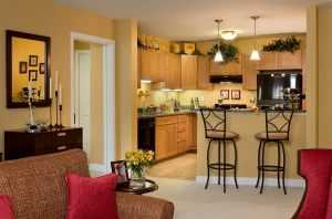 Independent living, kitchen