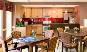 Country kitchen, assisted living