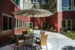 Enhanced Independent Living / Assisted Living Patio